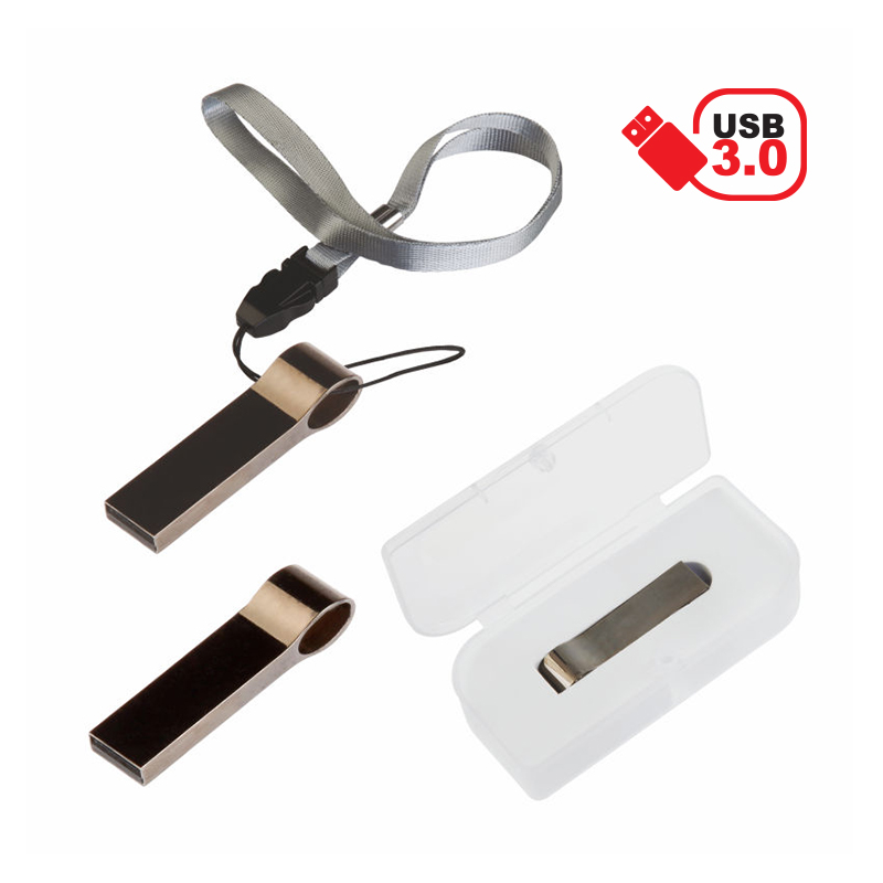 3.00 Metal Usb Bellek 32 Gb